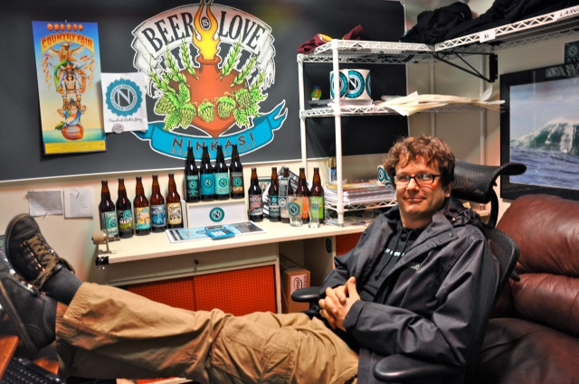 Ninkasi Brewing Co. Marketing Manager James Book.