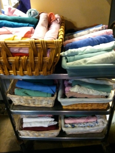 Cloth napkins - photo by Anna Bird