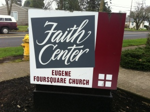 The Eugene Faith Center located on West 13th Avenue