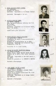 A Guatemalan military logbook of disappeared citizens obtained by the National Security Archive.  Image courtesy of Wikimedia Commons.