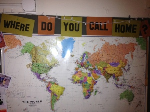 Hostel world map