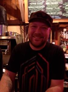 Sam Bond's bartender, Jerry Leach.