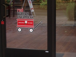 Red Wagon is located on Broadway, just past Willamette and is a great way to stay cool in the summer.